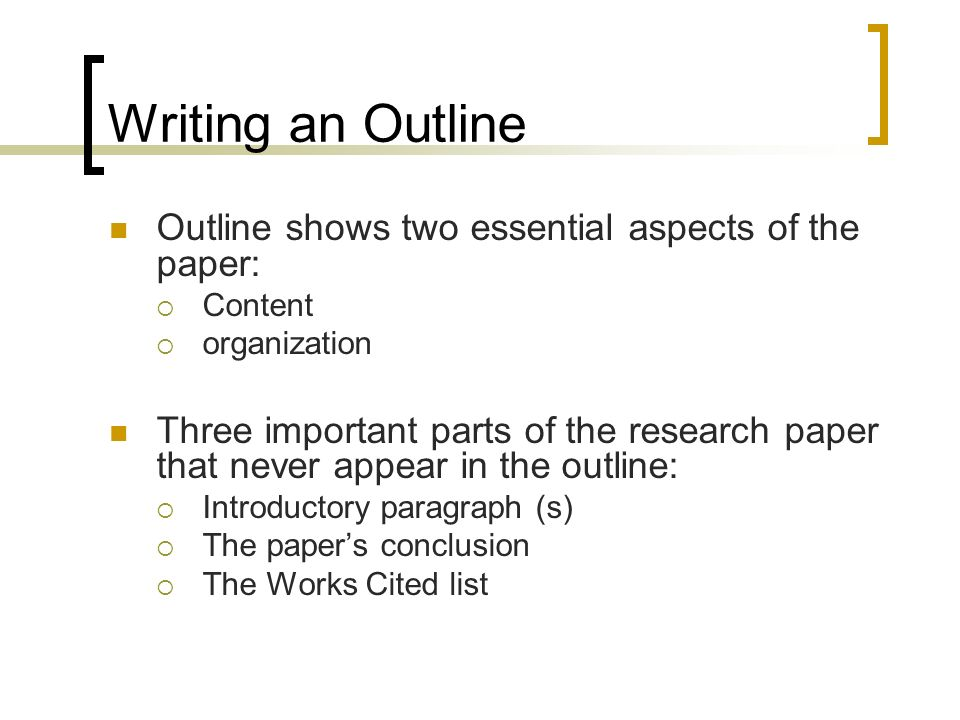 parts of a research paper and their definition Parts of chapter 1 or research paper the format for the research paperplease take note of the guidelines for submission 1be sure that all the parts of the research paper are included and the format is strictly followed.