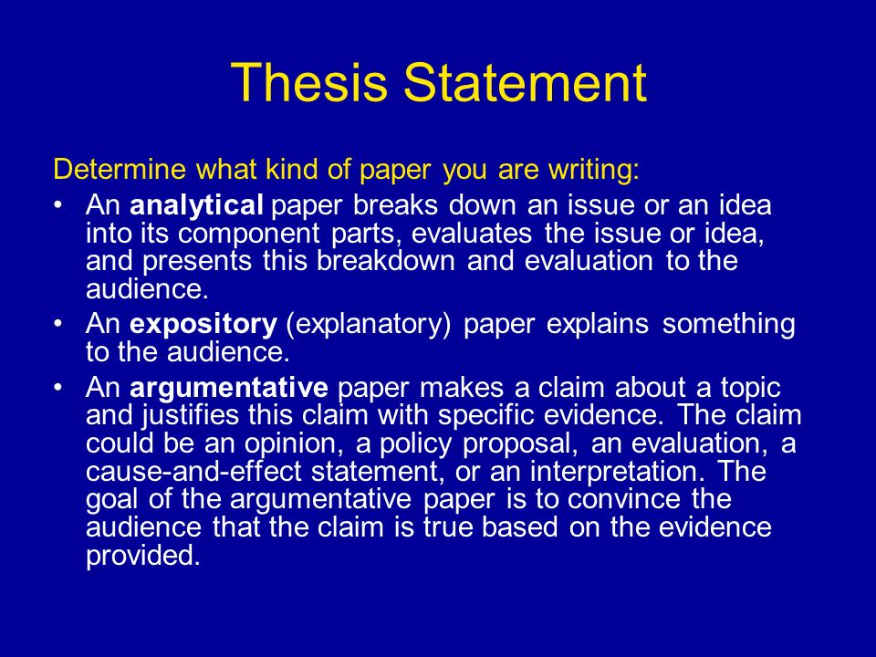 thesis driven analysis Let's talk about genre and structure for the rhetorical analysis, you are writing a closed-form, thesis-driven essay this means that your thesis is the constant thread connecting all of the ideas in.