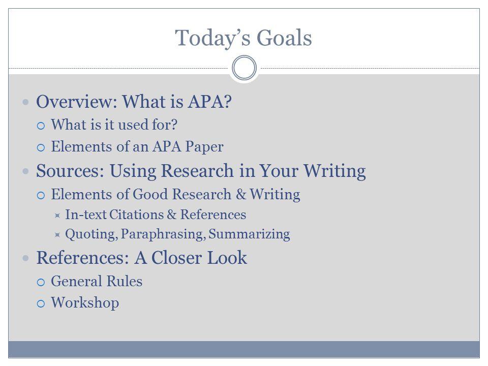 academic skills writing