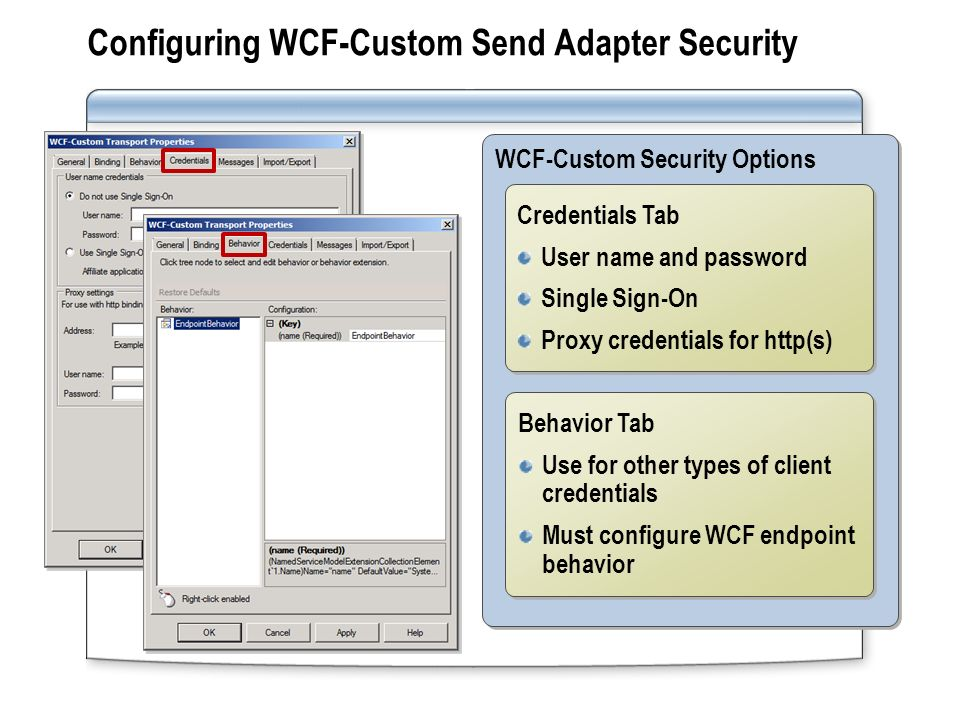 Module 14: WCF Send Adapters  Overview Lesson 1: Introduction to WCF