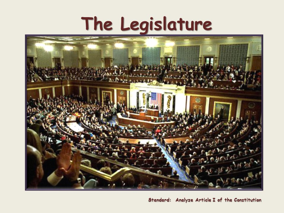 today s questions why do we have the type of legislature we have