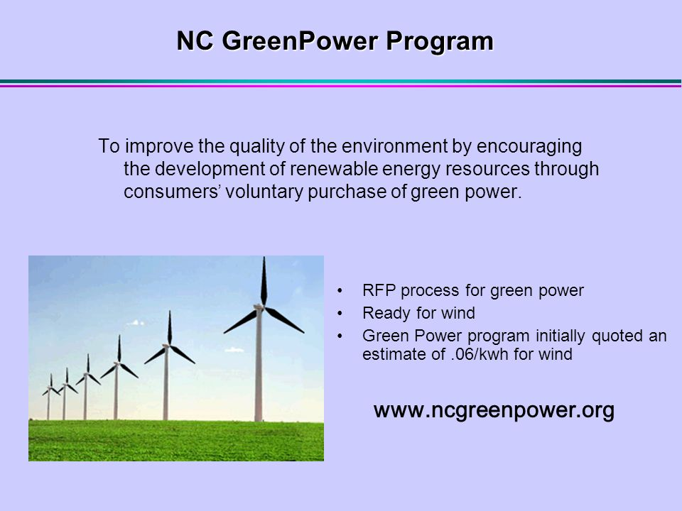 Wind Incentives and Regulations  US Department of Energy National