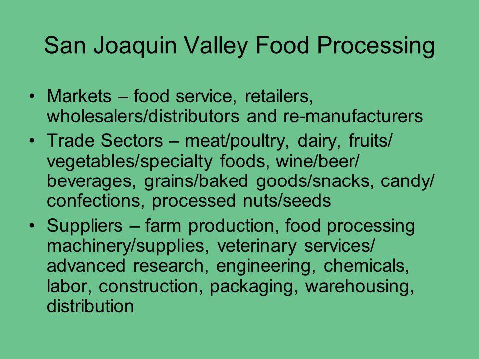 California League of Food Processors Ed Yates, President/CEO
