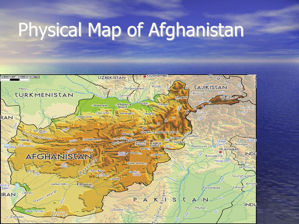 Social Stus Project By: Joseph Corzine. Maps of Afghanistan My ... on