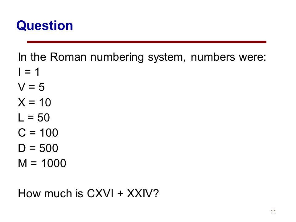 cxvi in numbers
