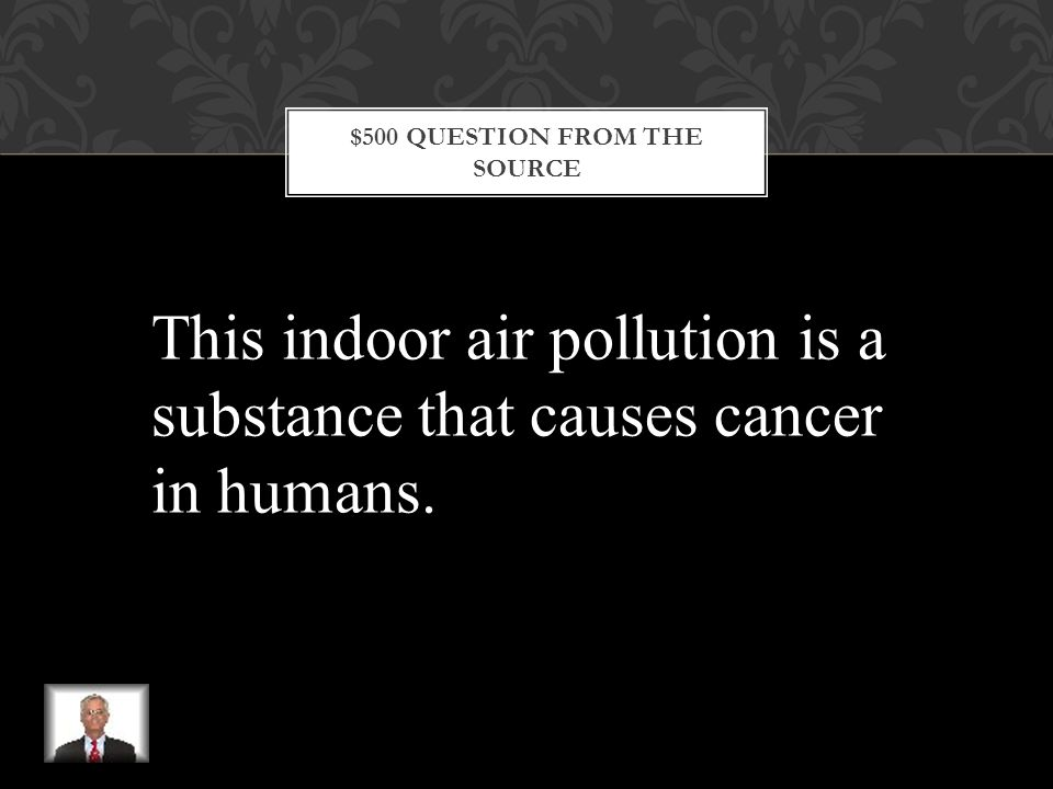 $400 ANSWER FROM THE SOURCE What is smog