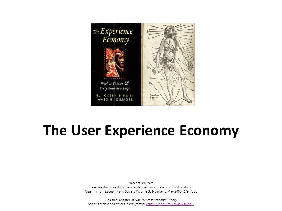 The Experience Economy Pdf