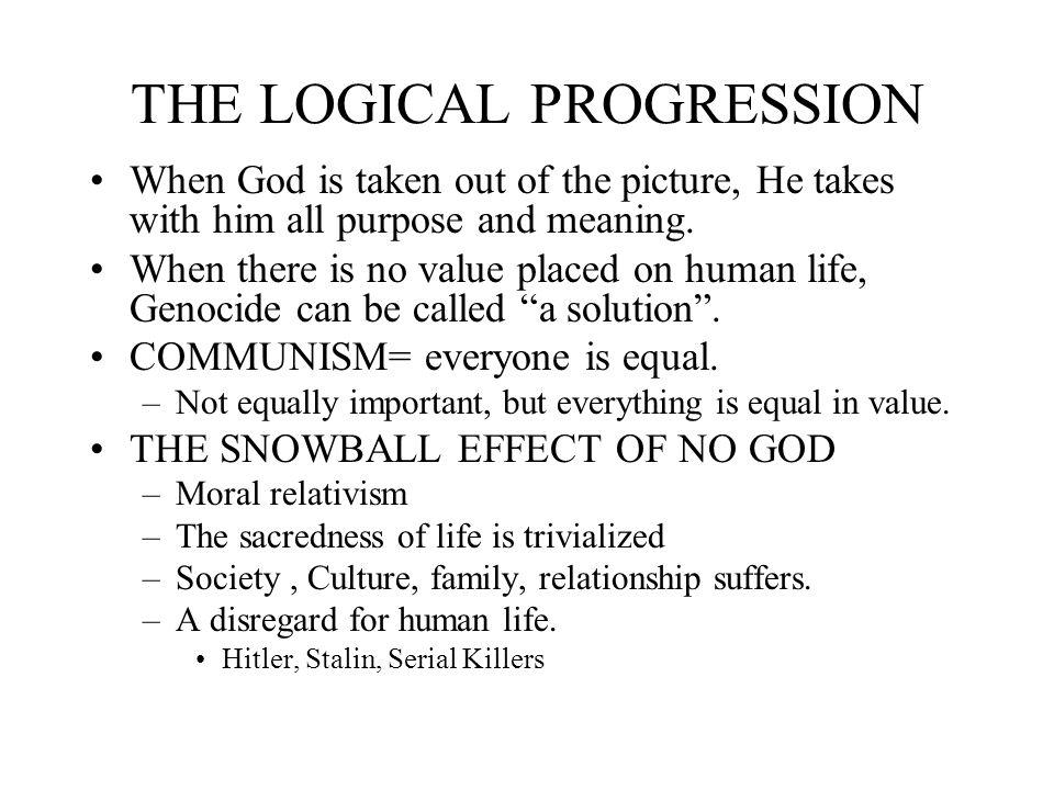 logical progression definition