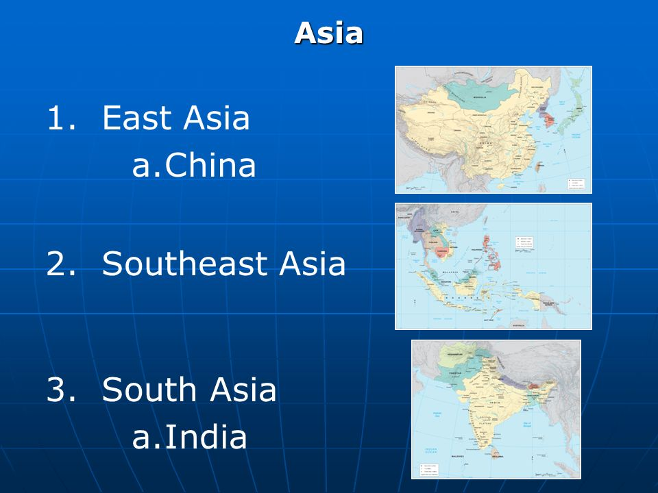 World regional geography april 7 2010 reading marston chapter 8 east asia aina 2 southeast asia 3 south asia adia gumiabroncs Choice Image