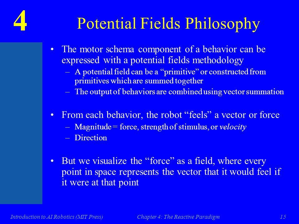 4 Introduction to AI Robotics (MIT Press)Chapter 4: The Reactive ...