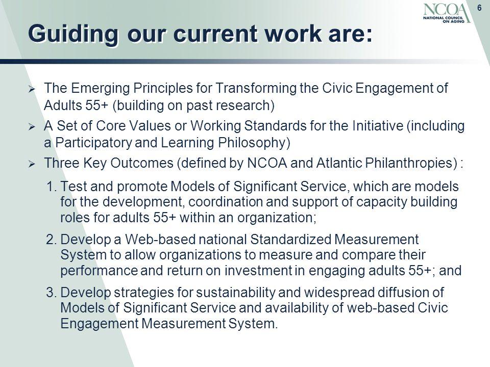 leadership vision statement ncoa