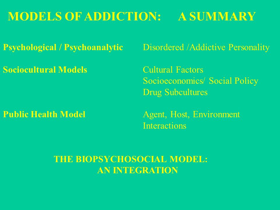 genetic and biological foundations of personality 40 | biological components of substance abuse and addiction to involve multiple genes that control various aspects of the biological response to drugs in addition, the complex nature of drug dependency.