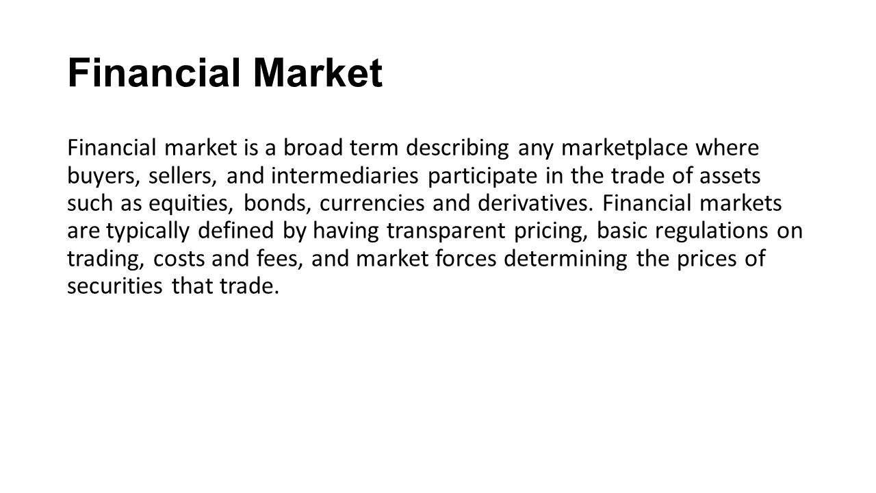 characteristics and features of capital markets finance essay This week we discuss the value added by financial markets to corporate development and economic growth we cover the key roles of price discovery, flow of funds, efficient capital allocation, portfolio diversification and corporate governance.