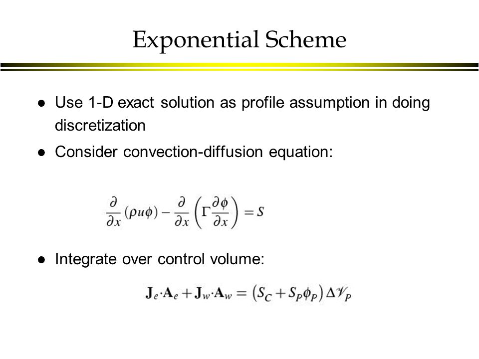 Lecture 16: Convection and Diffusion (Cont'd)  Last Time