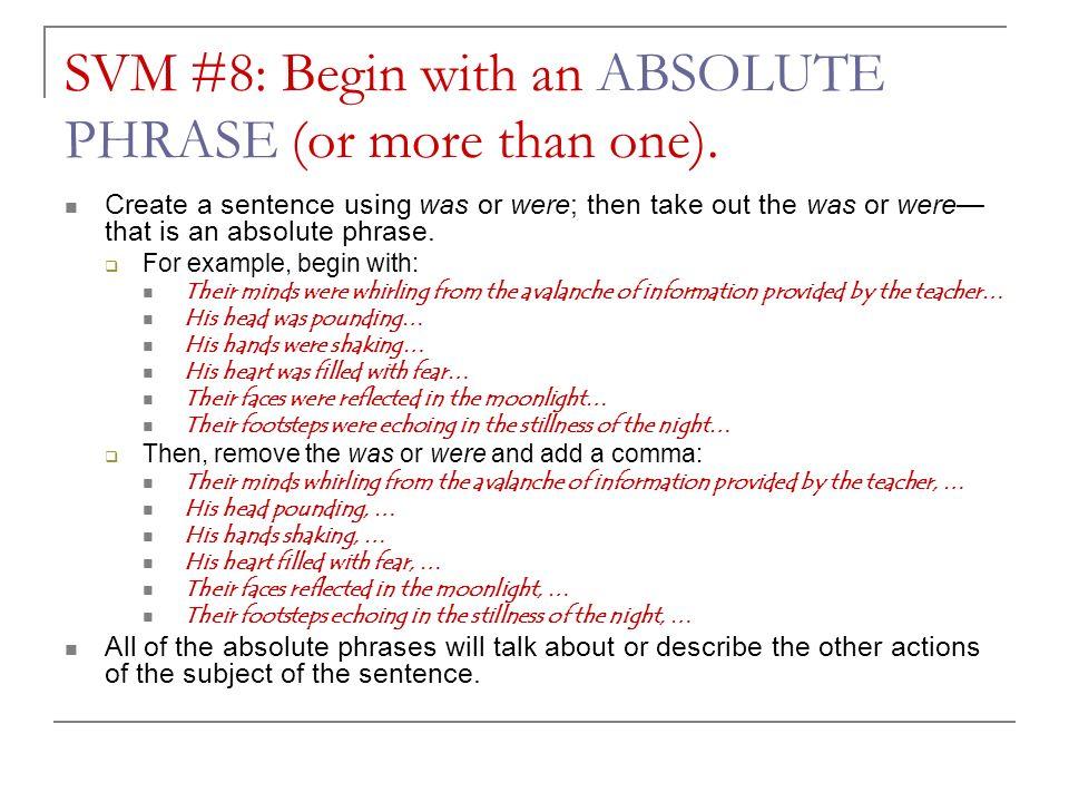 Sentence Variation Models 6 10 Creating Effective Sentences Ppt