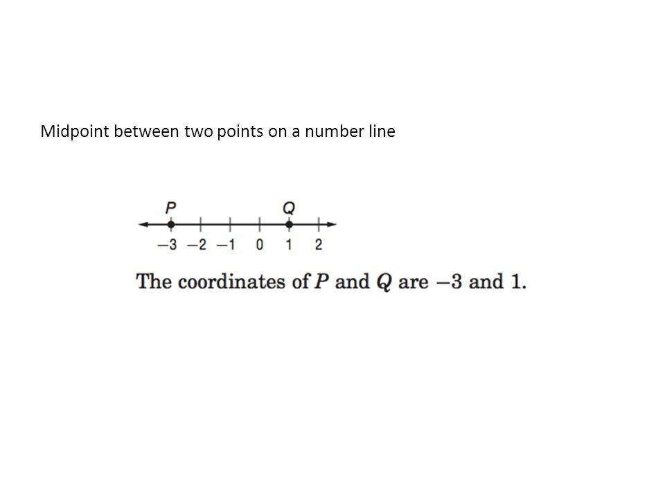 Objective Finding Distance And Midpoint Between Two Points Warm Up