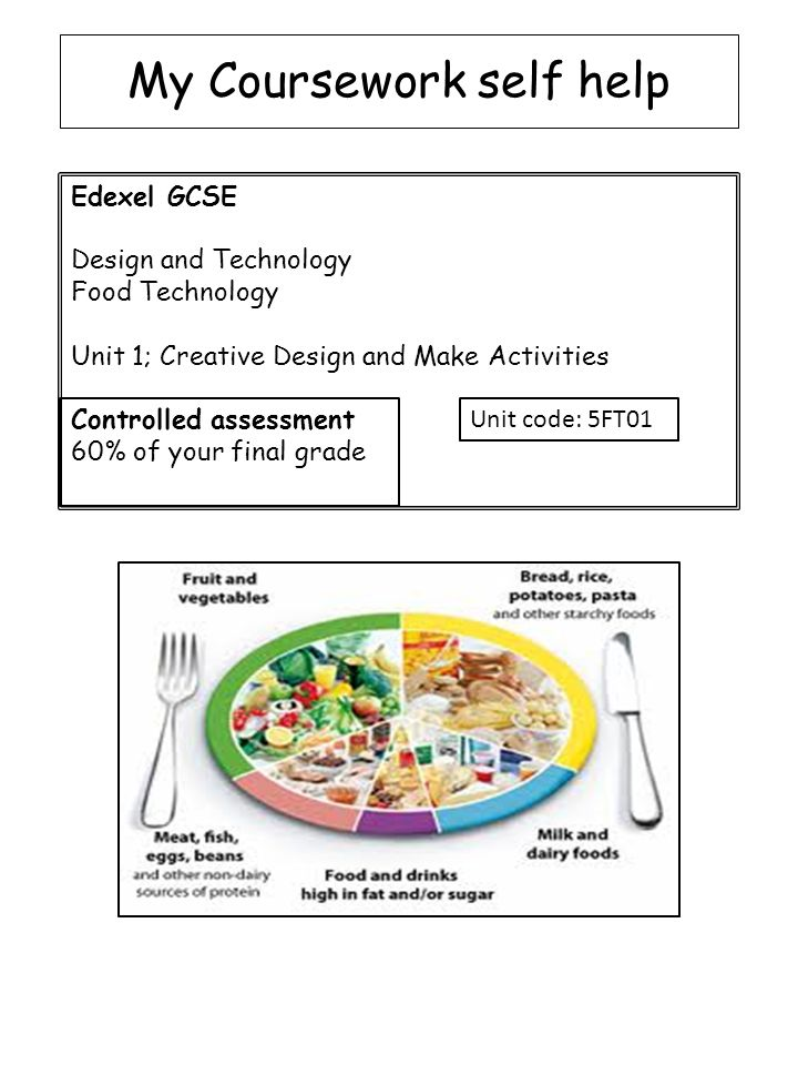 Food technology coursework help