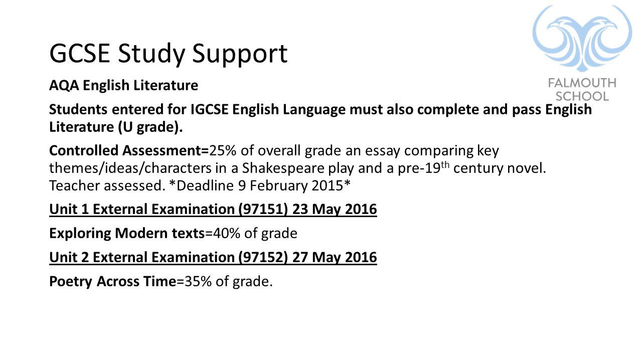 igcse english 0522 coursework deadline 2016