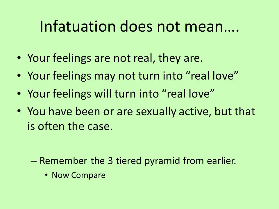 what does infatuated mean