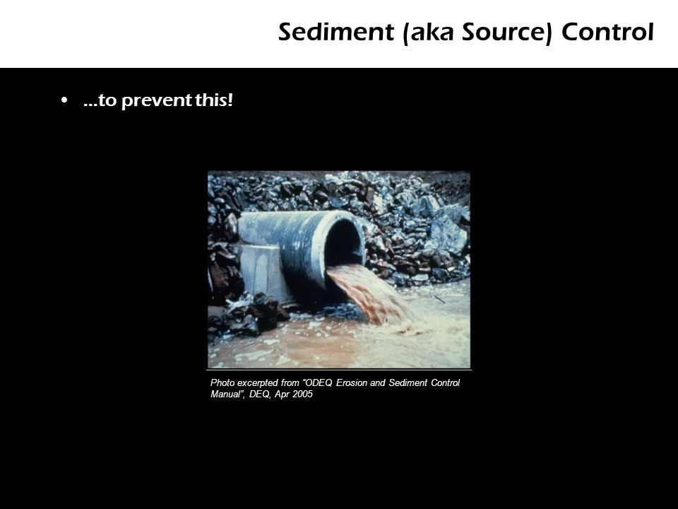 structures protect structural integrity wood less durable check dams rh slideplayer com Erosion and Sediment Control Training Erosion and Sediment Control Practices