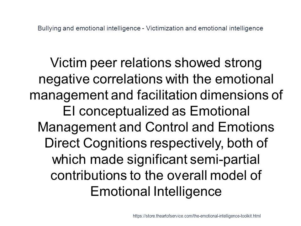 Emotional Intelligence - ppt download
