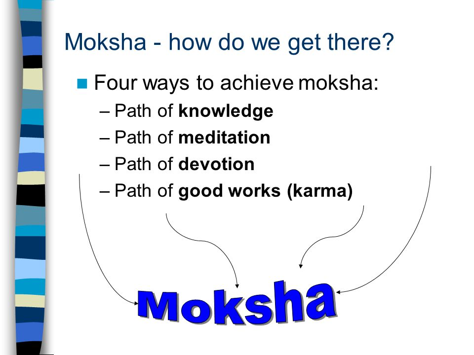 Moksha - how do we get there.