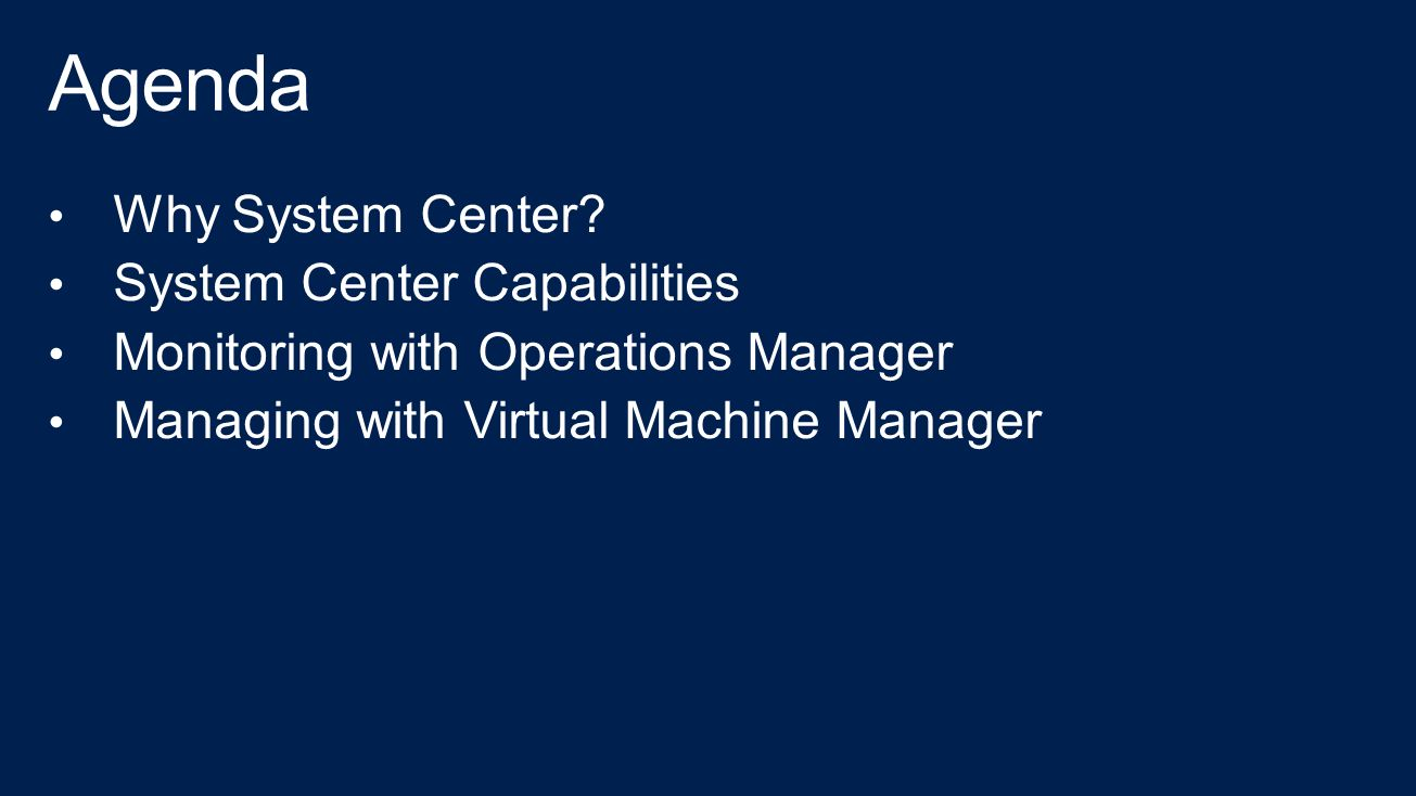 System Center Operations Manager 2012 Ebook