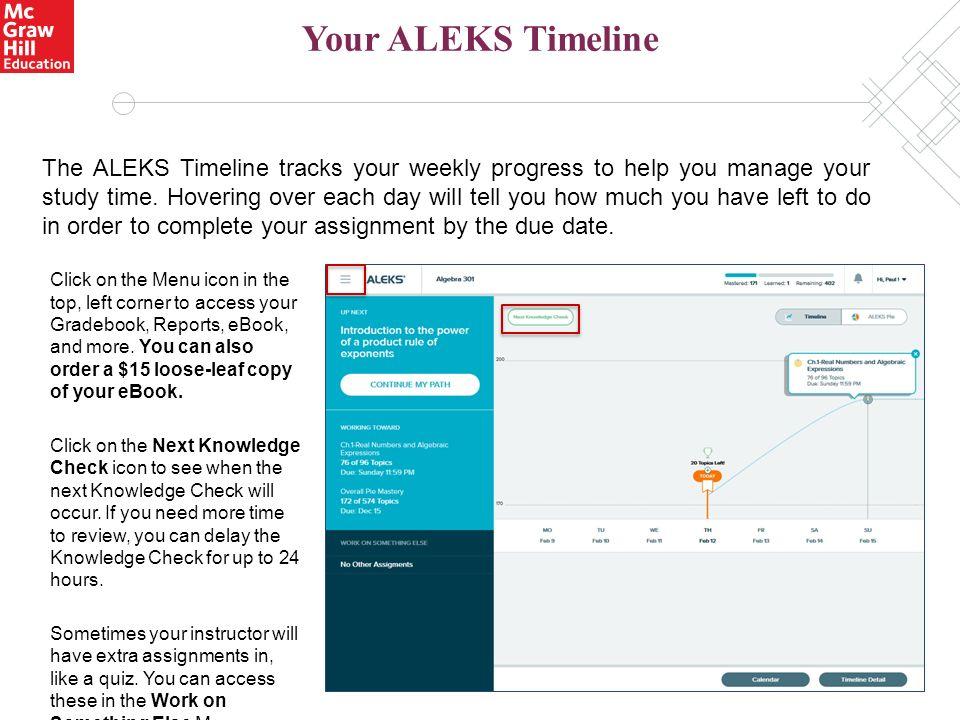 aleks user guide access code ebook