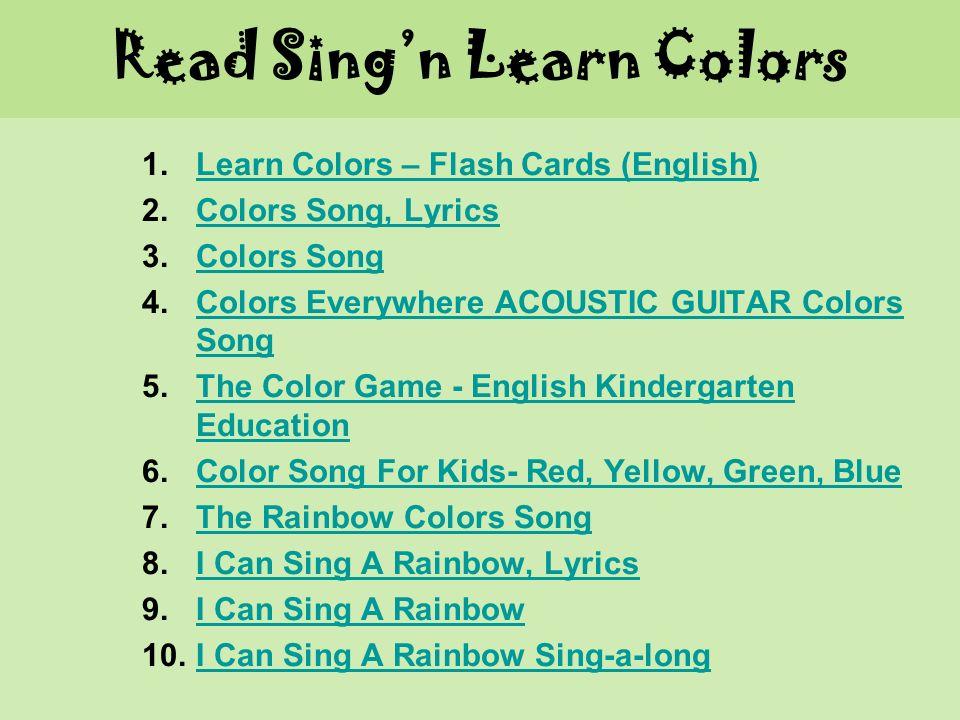 Read Sing'n Learn Laget av Marianne Østensen  1