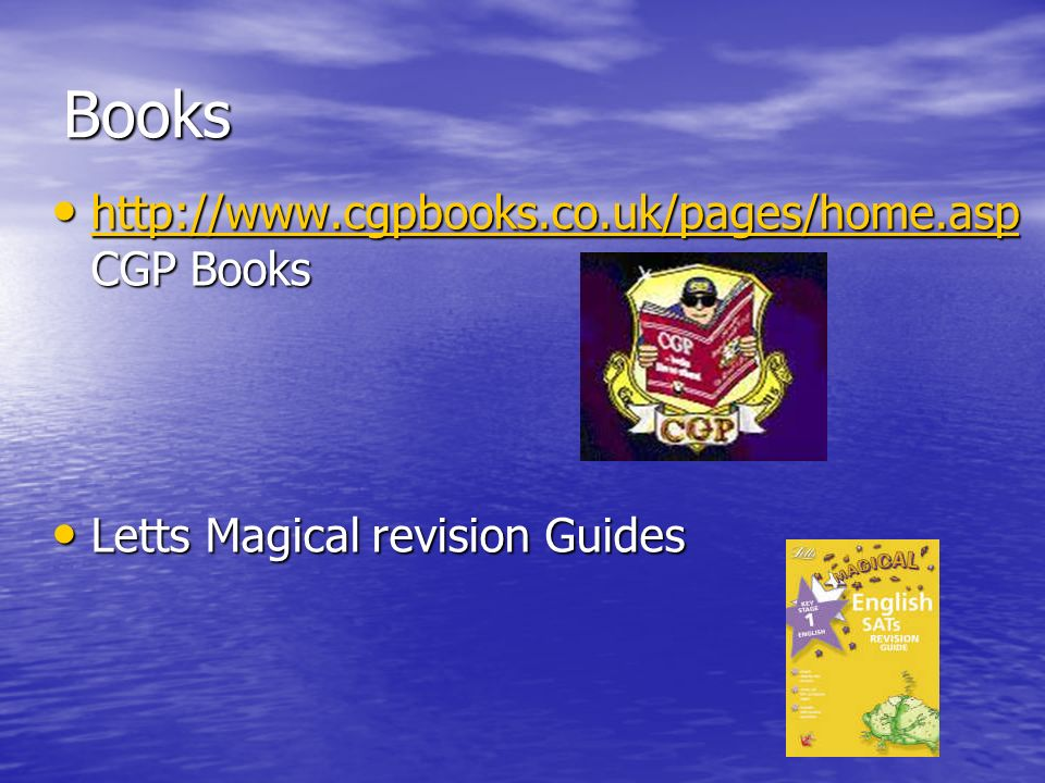 Books   CGP Books   CGP Books   Letts Magical revision Guides Letts Magical revision Guides