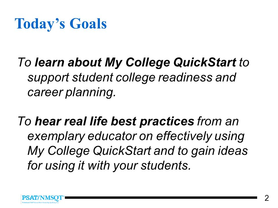 using my college quickstart a free online college and career