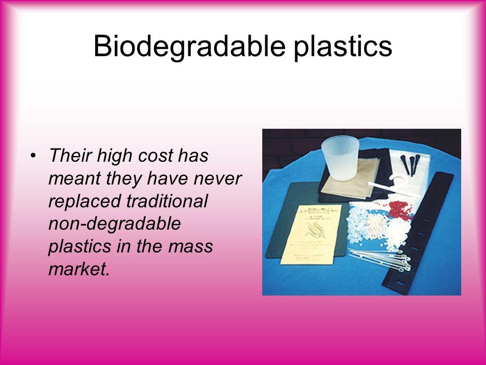 Biodegradable Plastics  Biodegradable plastics Biodegradable