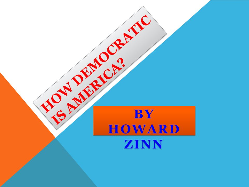 Embarrassing Moments Essay  How Democratic Is America By Howard Zinn Movie Analysis Essay also Introductory Paragraph Essay How Democratic Is America By Howard Zinn I Essay Setting Written  Nursing Scholarship Essay Examples