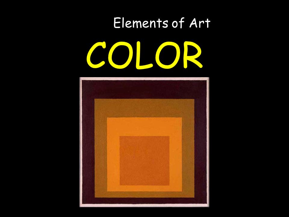 COLOR Elements of Art Josef Albers Study for Homage to the Square: High Autumn 22 x 22 in / 56 x 56 cm Our reference Close this window