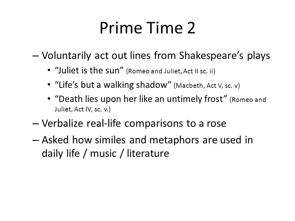 time similes