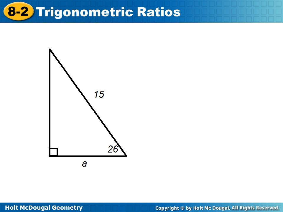 holt geometry lesson 8-2 problem solving trigonometric ratios answers