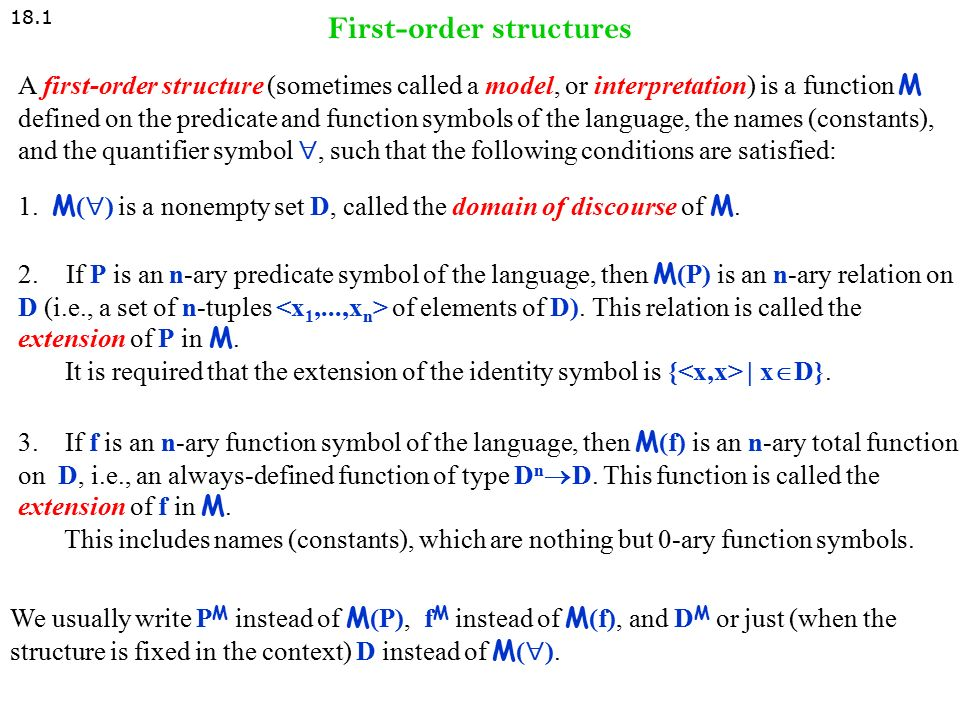 Advanced Topics In Fol Chapter 18 Language Proof And Logic Ppt