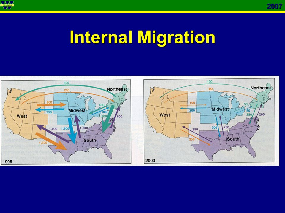 2007 Internal Migration