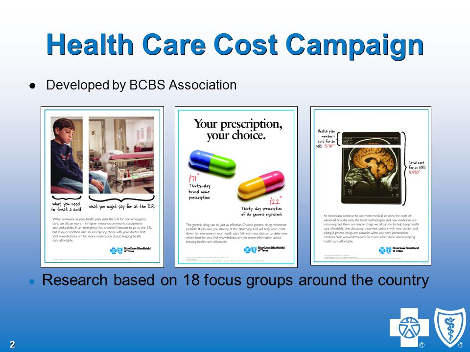 1 1 Health Care Cost Campaign Employee Communication to Help Keep