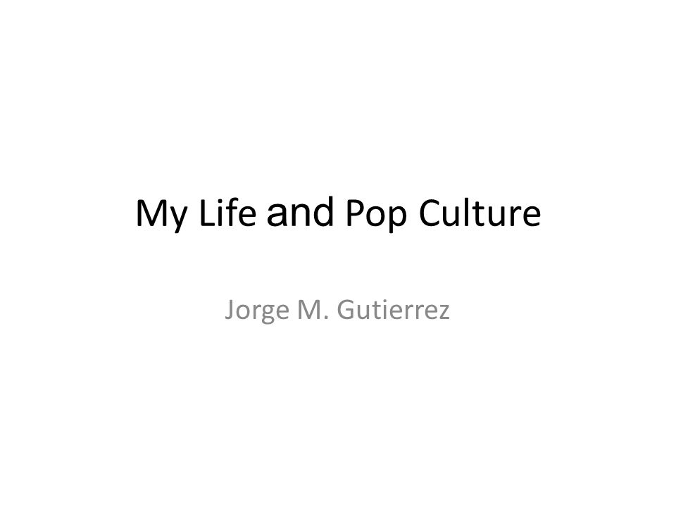 My Life And Pop Culture Jorge M Gutierrez Babyyears As A Baby I