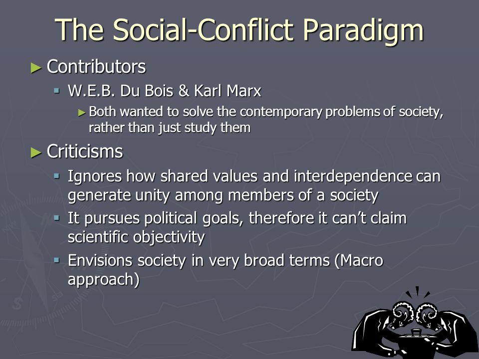 The Social-Conflict Paradigm ► Contributors  W.E.B.