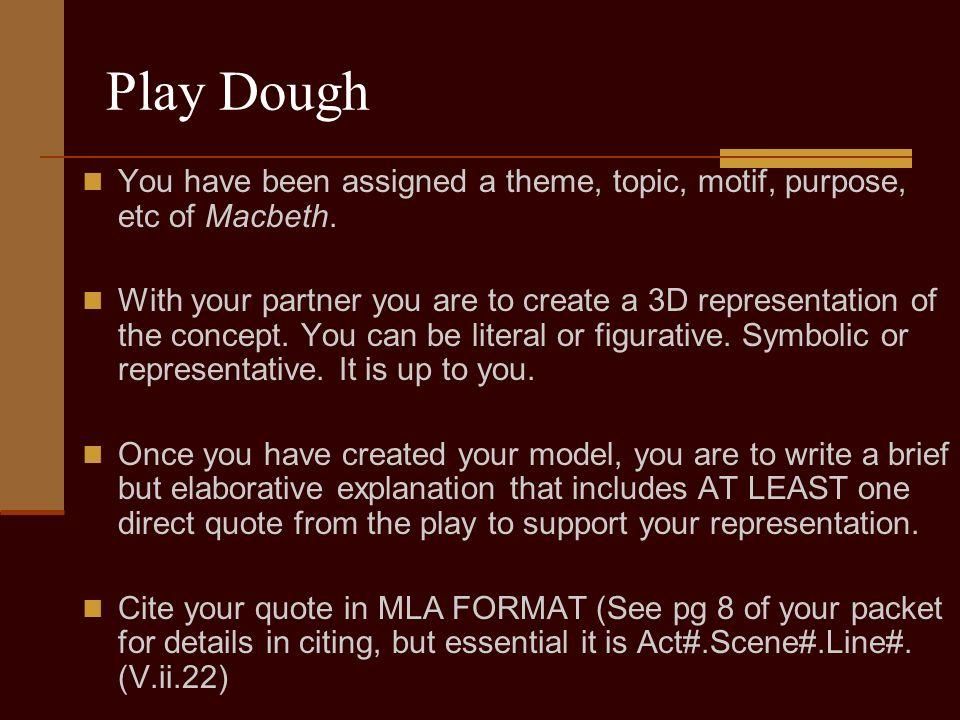 main idea of macbeth