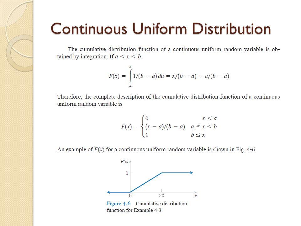 Statistics For Engineer Week Ii And Week Iii Random Variables And