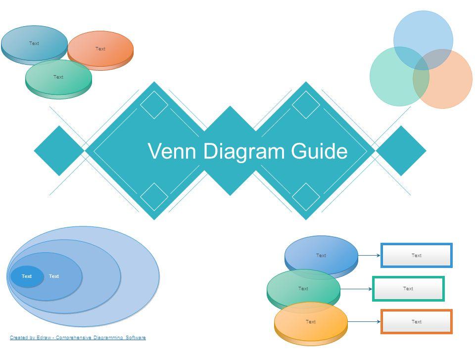 Venn diagram guide text created by edraw comprehensive diagramming 1 venn diagram guide text created by edraw comprehensive diagramming software ccuart Choice Image