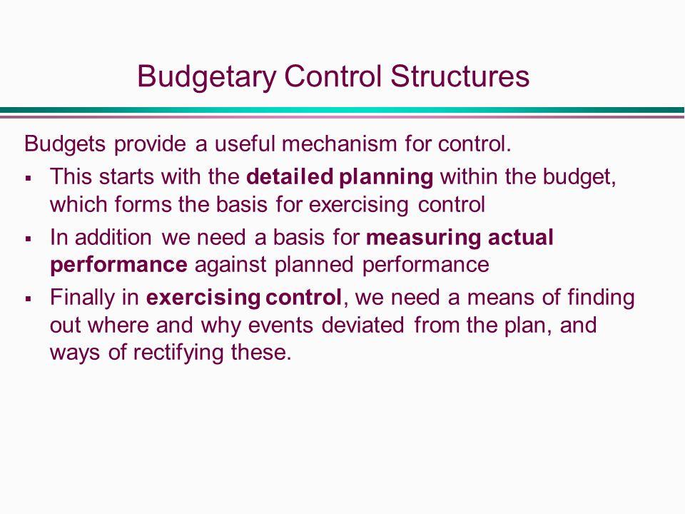 usac budget control mechanism