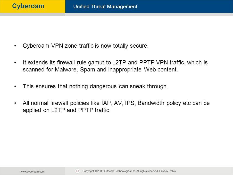 Cyberoam - Unified Threat Management Unified Threat