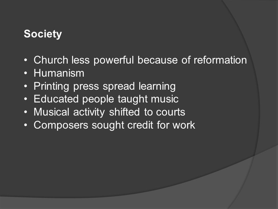 humanism in music