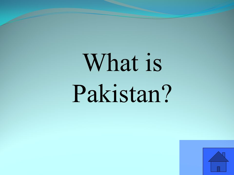 What is Pakistan