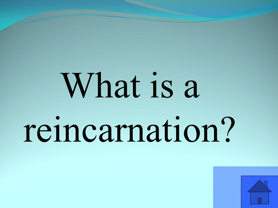 What is a reincarnation
