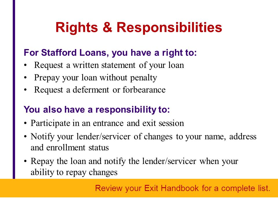 An Exit Program a Repayment Plan Create Manageable Office of